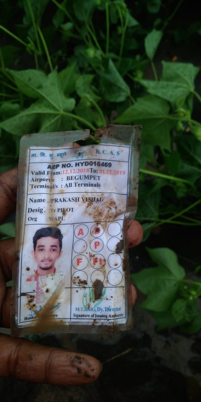 India Tv - Small plane crashes in cotton fields 100 kms off Hyderabad; both pilots killed