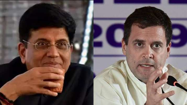 'These bigots are blinded by hatred, have no idea what a professional is': Rahul slams Goyal