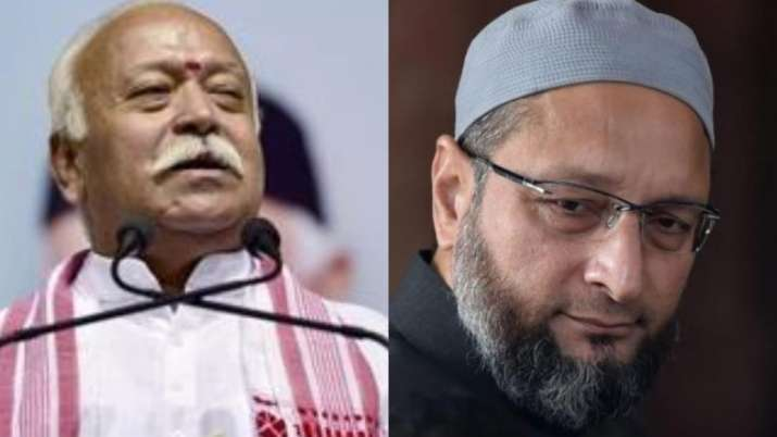 AIMIM chief Owaisi takes dig at Bhagwat's Muslims happy remark