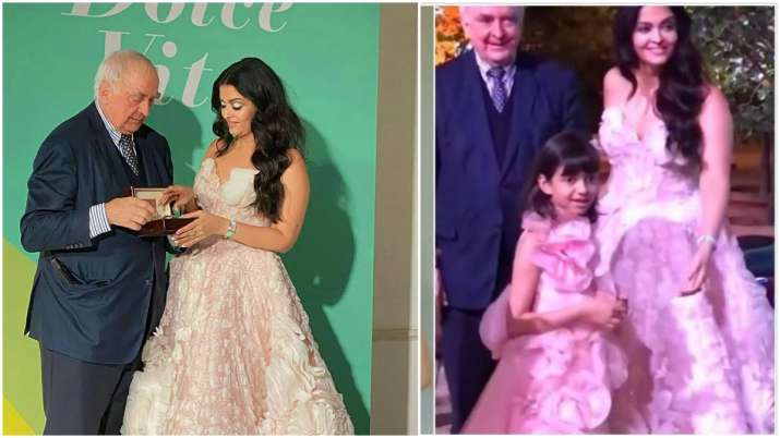 Aishwarya Rai Bachchan Rome pictures, videos with daughter Aaradhya