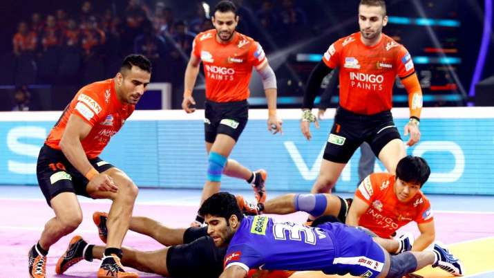 Bengaluru Bulls defeated UP Yoddha on Monday to reach the
