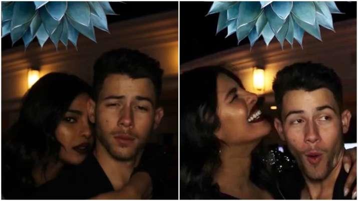 Priyanka Chopra, Nick Jonas chill together post concert