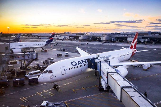 India Tv - Qantas New York-Sydney flight