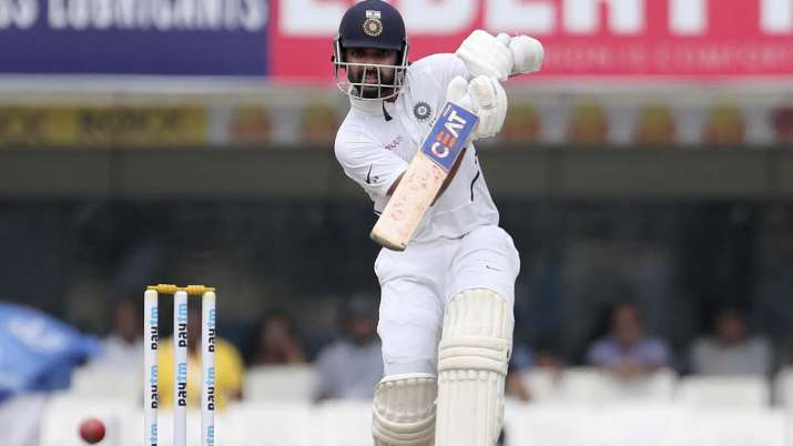 Rahane notched up his 11th Test hundred on Sunday, his