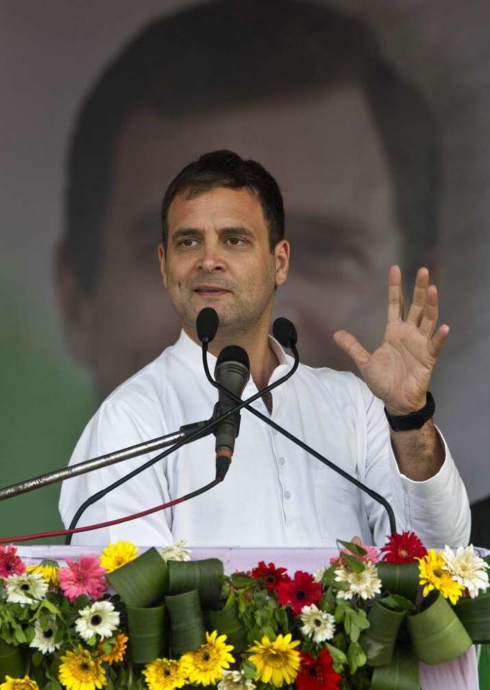 "Rahul Gandhi's exact words were: ""Khattam. Bye bye. Tata."
