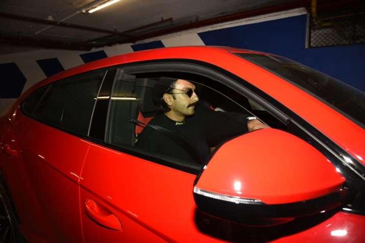 India Tv - Ranveer Singh gifts himself a new Lamborghini worth Rs 3 cr