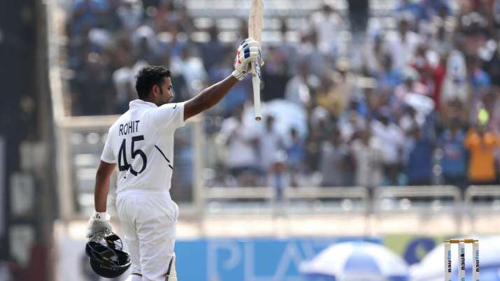 Rohit Sharma notched up 212 runs on Day 2 of third Test