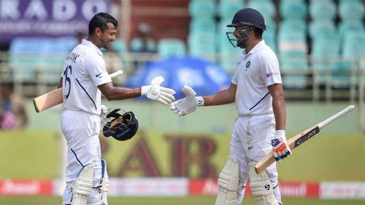 We didn't bow badly, Rohit Sharma and Mayank Agarwal were too good: Maharaj