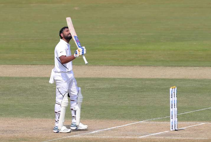 Rohit scored his 4th Test century on Wednesday and first as