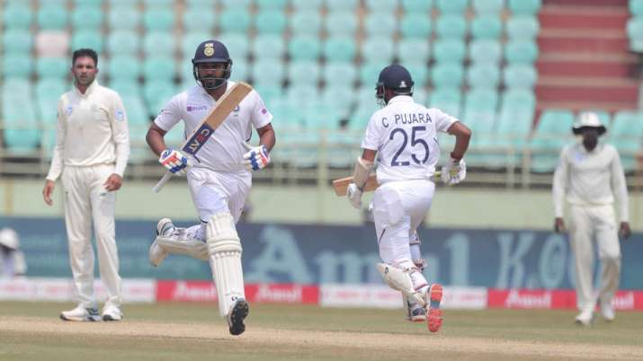 1st Test: Rohit slams ton as India consolidate position on Day 4 against South Africa