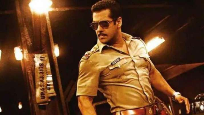 Salman Khan as Chulbul Pandey is back with more drama, action and thrill