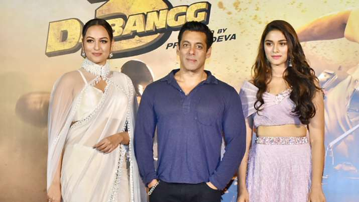 Image result for Salman  Khan trailer launch Dabang 3