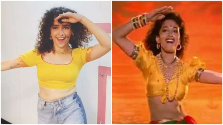 Sanya Malhotra is a Madhuri Dixit fan and this video is a proof