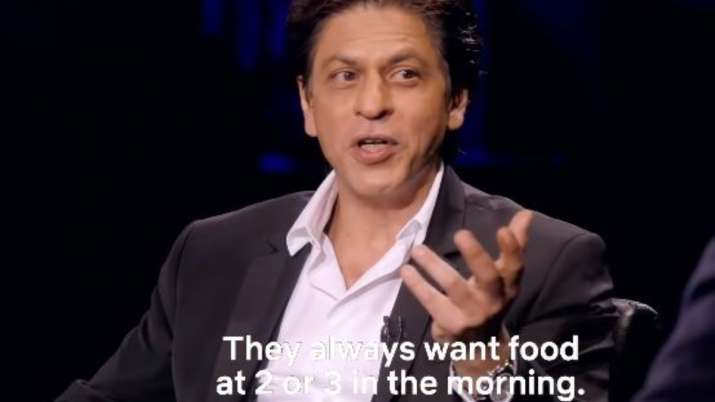Shah Rukh Khan is learning to cook Italian food for kids