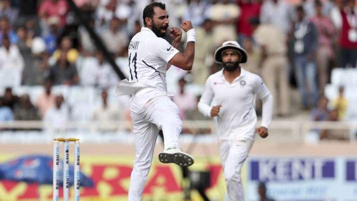 Shami returned best figures of 3/10 while Umesh Yadav took