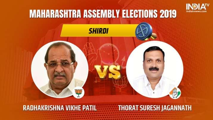 Shirdi Constituency Result: Radhakrishna Eknathrao Vikhe Patil vs Thorat Suresh Jagannath