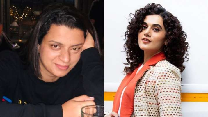 Taapsee Pannu reacts to Rangoli's Acting Ka A Nahi Aata comment