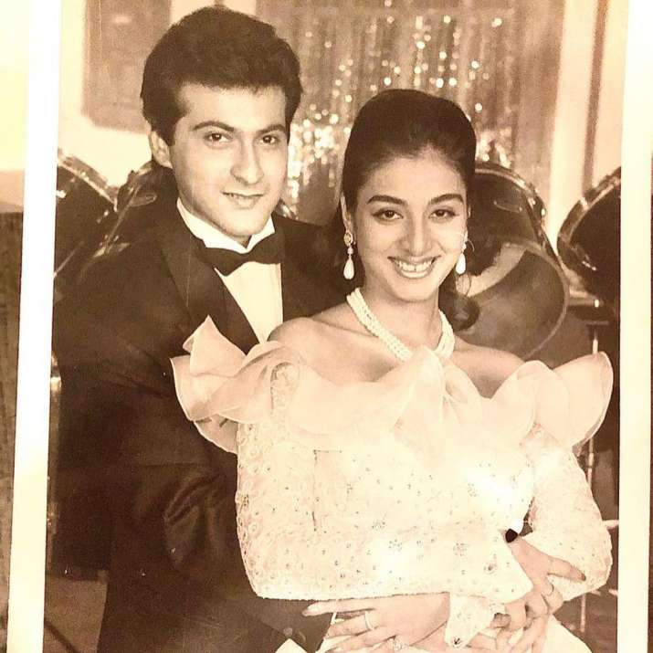 India Tv - Check out Tabu in these throwback pictures with Sanjay Kapoor