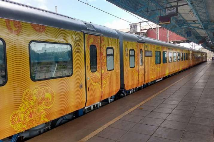 India Tv - IRCTC Tejas Express, Lucknow to Delhi train launched: 10 points about India's first 'private' train