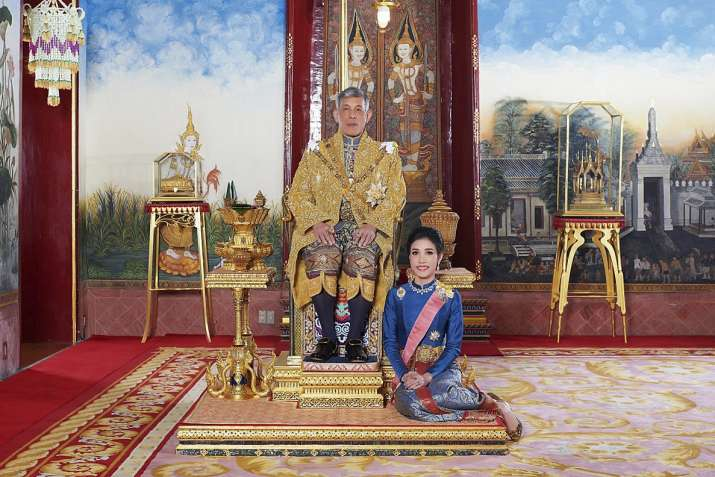 Thai king strips his consort of royal titles for disloyalty