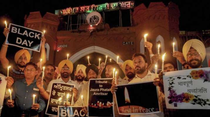 2018 Amritsar train tragedy: Action taken against 6 cops, 7 municipal employees