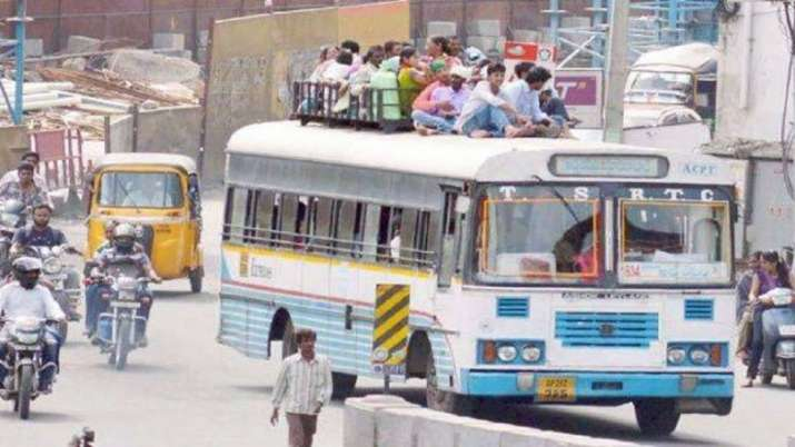 Buses remain off roads in Telangana as strike enters second day