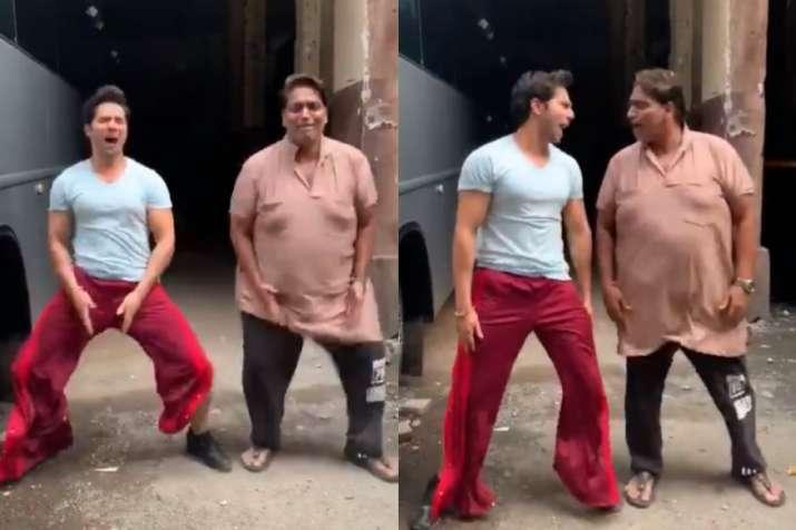 Varun Dhawan takes Akshay Kumar's Bala challenge, watch