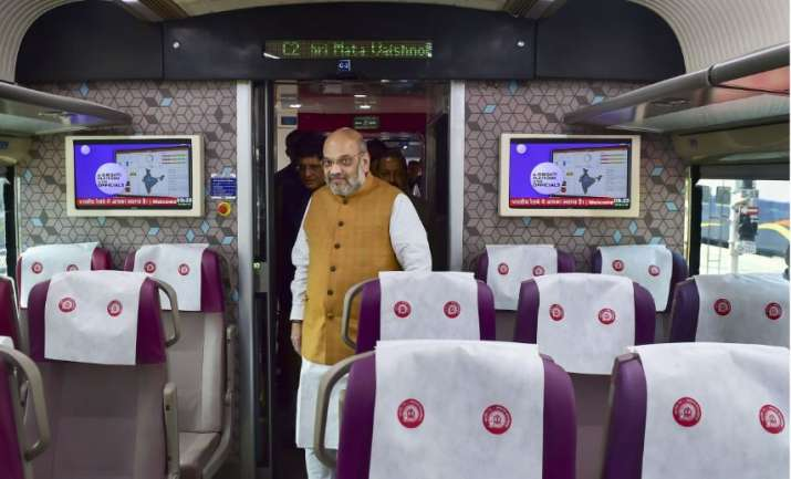 Vande Bharat train photos