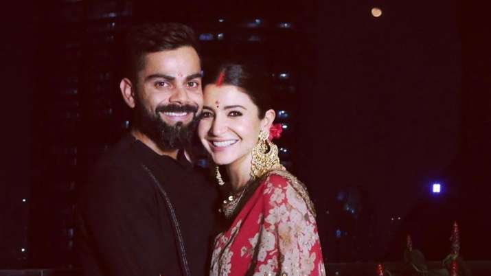 Ones who fast together laugh together: Virat Kohli posts adorable photo with Anushka Sharma on Karwa