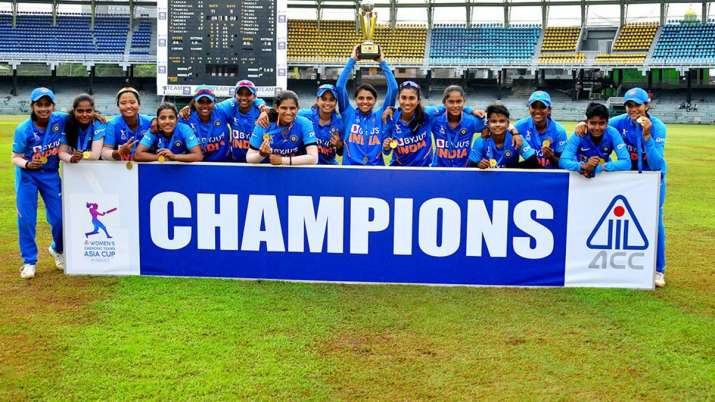 Indian women claim Emerging Asia Cup title