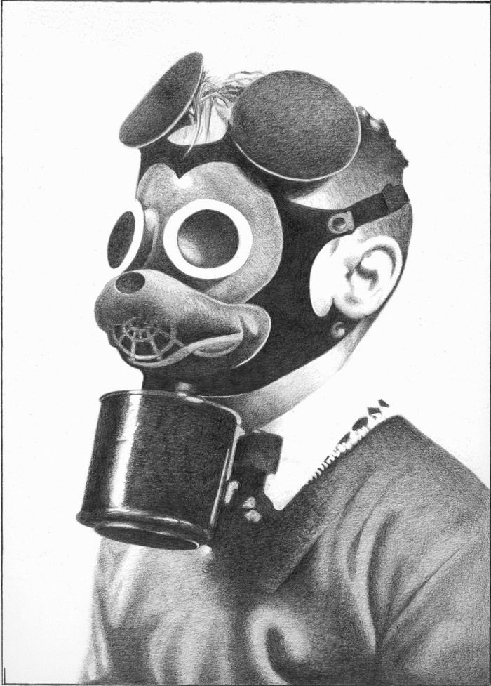 India Tv - Mickey Mouse inspired by gas mask.