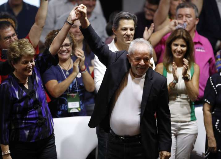 Brazil ex-president Luiz Inacio, out of jail, vows to make 'lives hell'