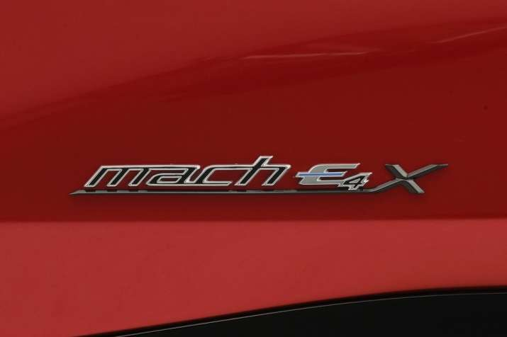 India Tv - Ford Mustang Mach-E electric SUV unveiled; check details