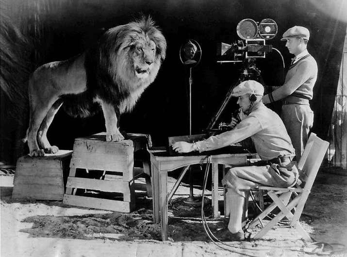 India Tv - The MGM lion, Leo, 1928