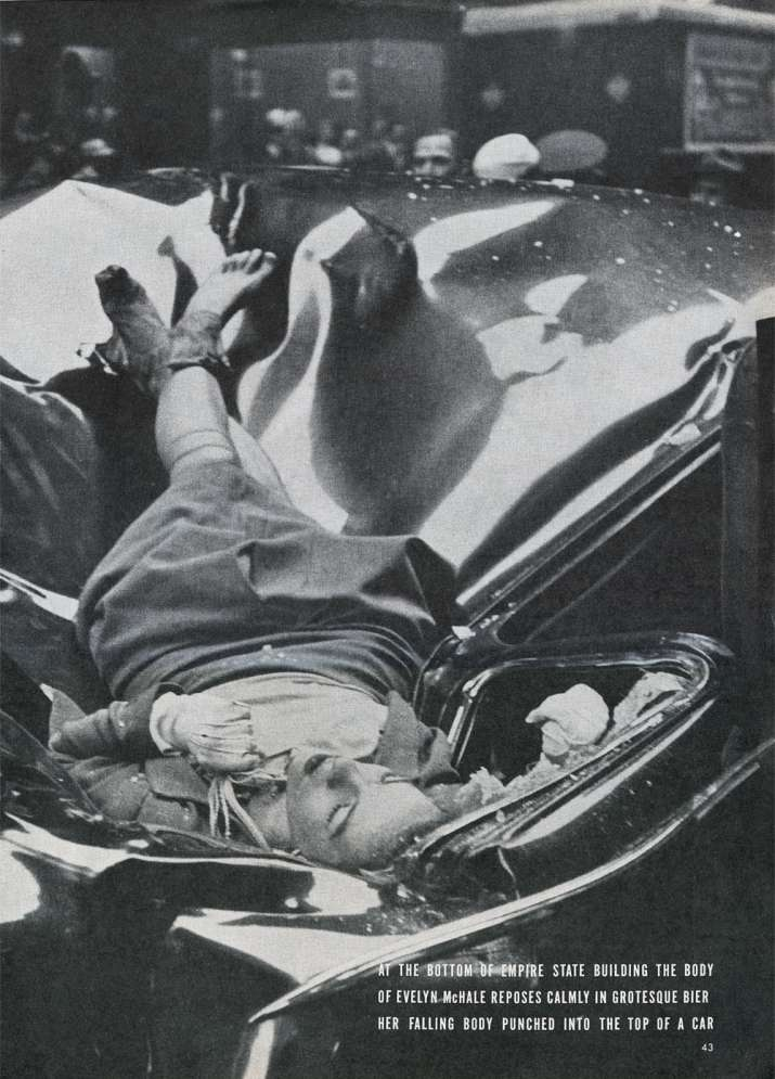 India Tv - Evelyn McHale death by jumping from the Empire State Building, 1947.
