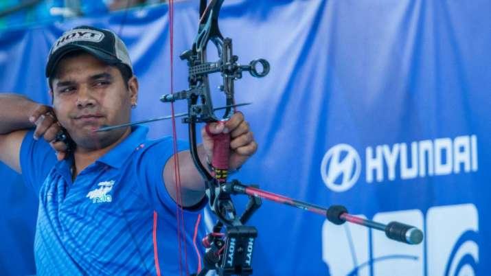 abhishek verma, jyothi surekha vennam, asian archery championship, compound mixed pair event