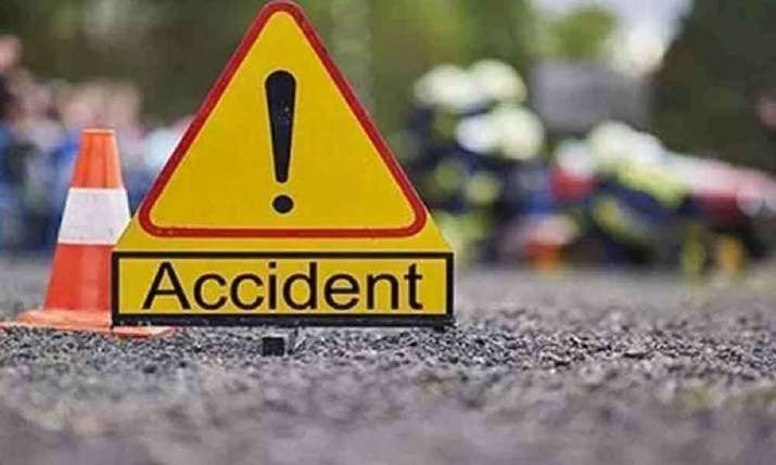 Woman crushed to death by tempo after falling off motorcycle