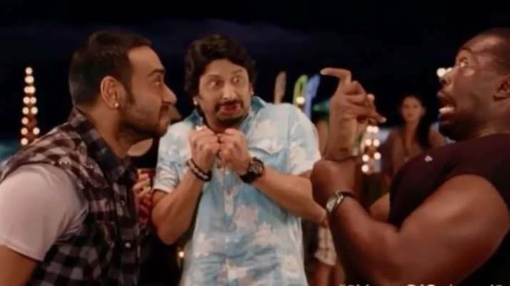 Ajay Devgn shared a funny clip from Golmaal 3 as the film