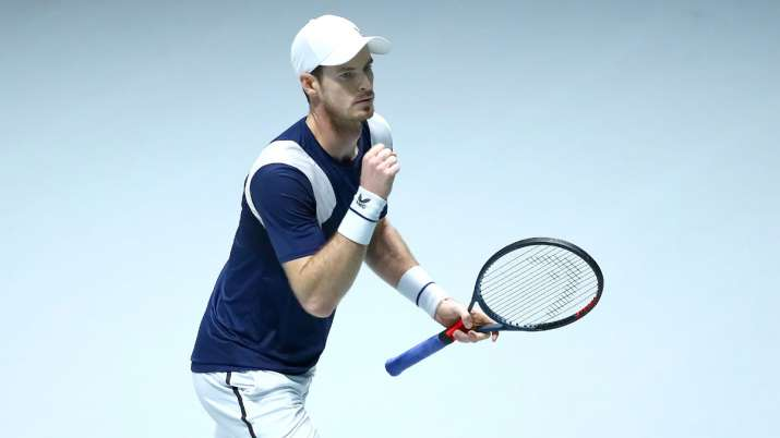 Davis Cup Finals: Andy Murray wins on return as Britain beat Netherlands