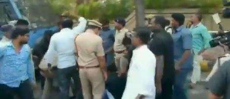 TSRTC strike: Police detains several protesting employees