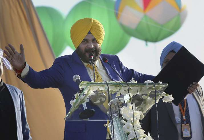 India Tv - Congress leader from Punjab, Navjot Singh Sidhu also attended the inauguration event held in Pakistan. Singh also gave a speech during the inauguration event.