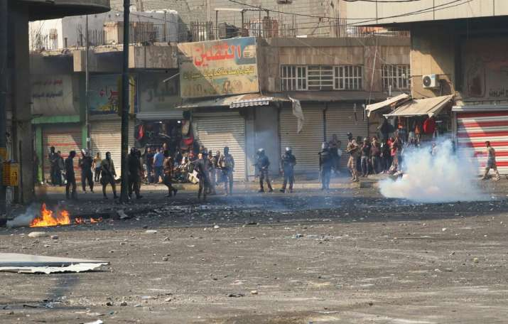 India Tv - Biggest protests in Iraq since Saddam Hussein, death toll rises to 319, over 15,000 injured