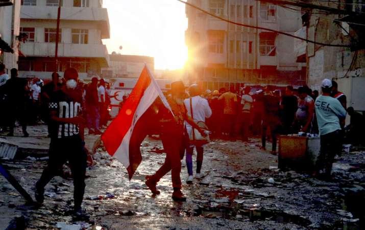 Biggest protests in Iraq since Saddam Hussein, death toll
