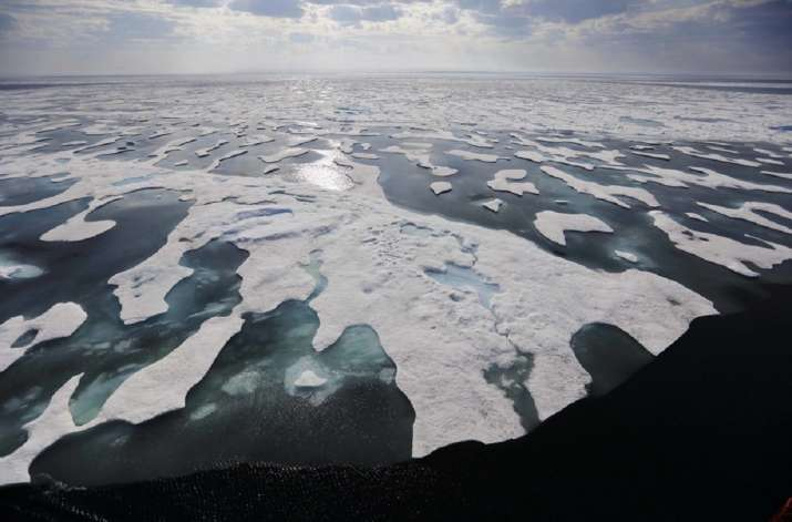 Arctic ocean may be invaded by microbes from tropics,