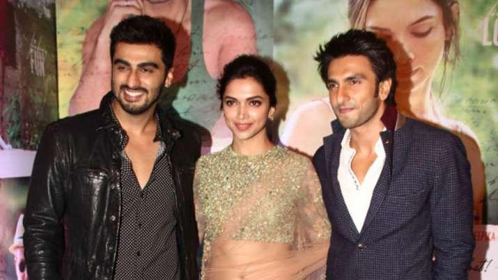 Arjun Kapoor calls himself Deepika Padukone's souten