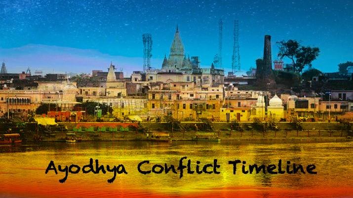Ayodhya Conflict Timeline