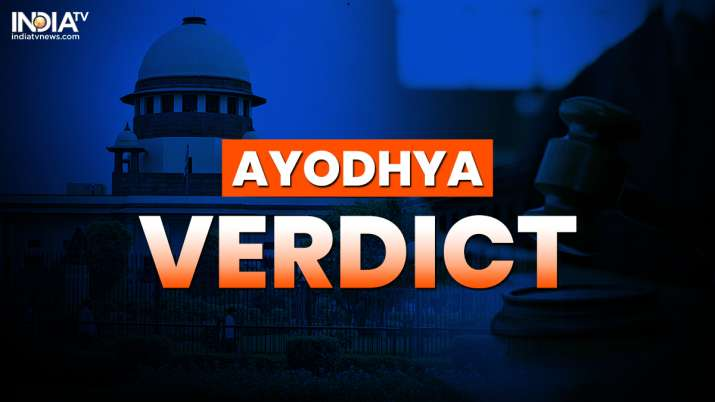 Ayodhya verdict: Babri Masjid not constructed on vacant land, says CJI