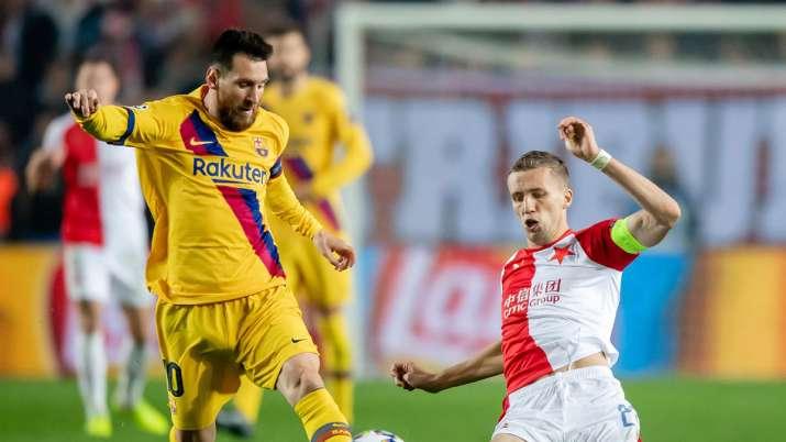 Live Streaming Barcelona vs Slavia Praha, Champions League: Watch BARCA vs Praha live match on SonyL