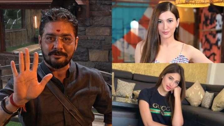 Gauahar Khan reacts to Hindustani Bhau's comments