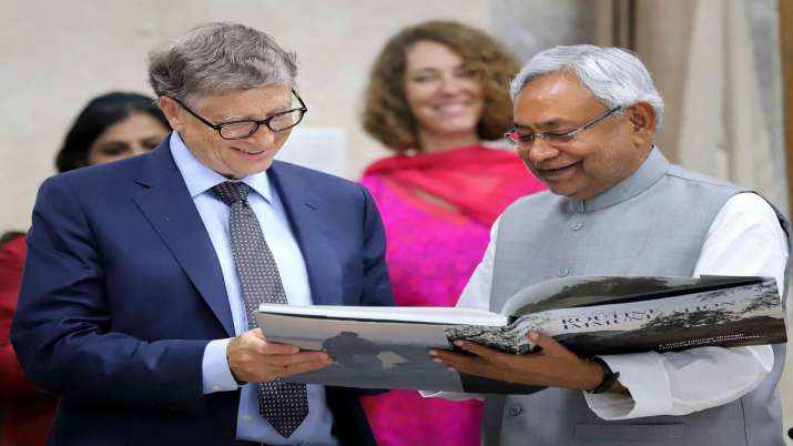Bill Gates praises Bihar govt for efforts to fight poverty, disease